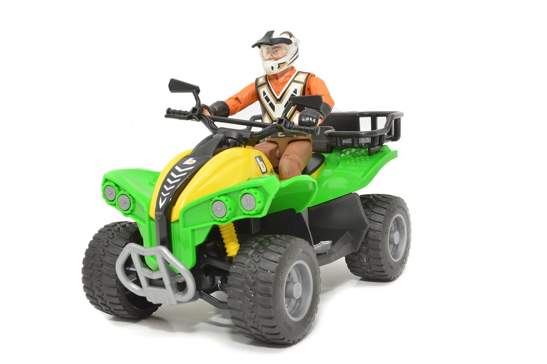 ATV CU SOFER BRUDER # 63000