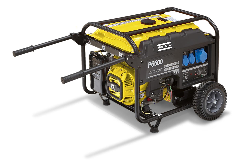 GENERATOR PORTABIL P6500T 3PH 400V 50 Hz # 1633103080