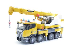 Camion Scania Seria R Cu Macara Bruder # 03570
