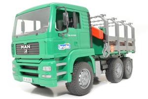 Camion Forestier Man Cu Macara De Incarcare Bruder # 02769