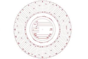 Diagrama Tahometru 180km/h