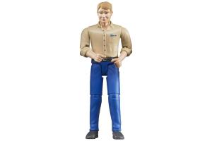 Figurina Barbat Cu Camasa Bej Bruder # 600060006
