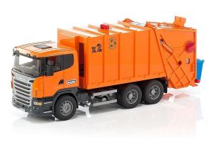Camion Pentru Colectarea Gunoiului Scania R-series Bruder 03560