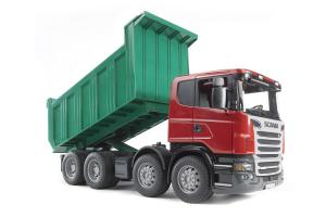 Camion Scania R Cu Bena Basculanta Bruder 03550