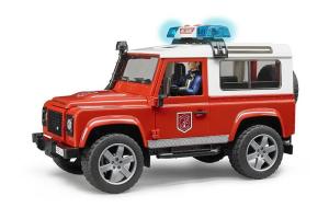 Masina De Pompier Land Rover Cu Pompier Bruder # 02596