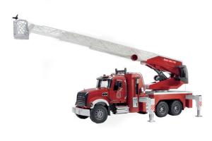 Masina De Pompier Cu Scara Si Pompa De Stingere A Incendiilor Mack # 02821