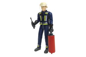 Figurina Barbat Pompier Cu Casca