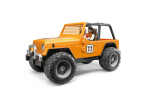 Jeep Cross Country Rancer Portocaliu Bruder # 02542
