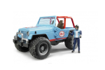 Jeep Cross Country Rancer Albastru Bruder # 02541