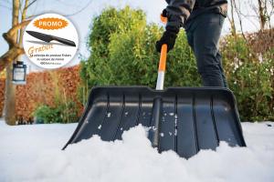Impingator Zapada Snowexpert Negru Fiskars 1.75kg # 143001 / 1003469