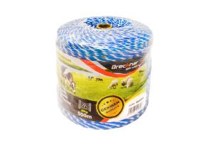 Rola Fir Gard Electric Alb-Albastru Fi 3 mm 3X0.2 mm 500M # Bk87655