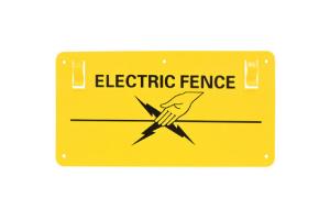 Placute Avertizare Gard Electric # Bk87662