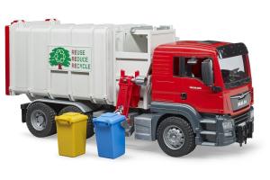 Incarcator Lateral Man Tgs Pentru Camioane Cu Containere Bruder # 03761