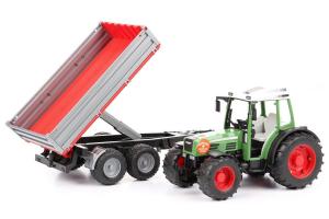 Tractor Fendt 209 S Cu Remorca Bruder # 02104