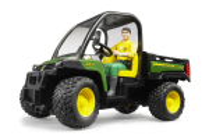 Autoutilitara John Deere Gator Xuv 855d Cu Tractiune 4x4 Si Sofer Bruder # 02490