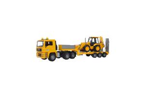 Incarcator Man Tga Jcb 4cx Cu Excavator Bruder # 02776