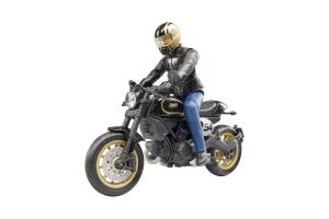 Motocicleta Scrambler Ducati Cafe Racer Cu Sofer # 63050