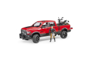 Pickup Ram 2500 Power Wagon Cu Scrambler Ducati Desert Sled Si Sofer Bruder # 02502