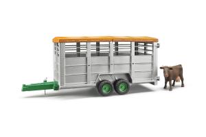 Remorca Pentru Vite Cu O Vaca Bruder # 02227