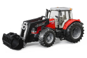 Tractor Massey Ferguson 7600 Cu Incarcator Frontal Bruder # 03047