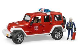 Masina De Pompier Cu Figurina Bruder # 02528