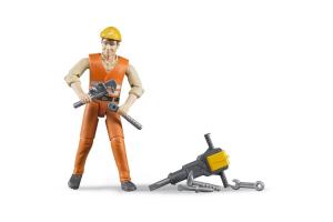 Figurina Barbat Constructor Si Accesorii Bruder # 060020