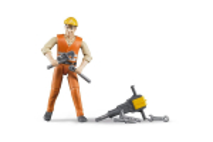 Figurina Barbat Constructor Si Accesorii Bruder # 0020