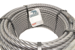 Cablu Tractiune Fi12 6x25 Compactat Grizzly - 80m