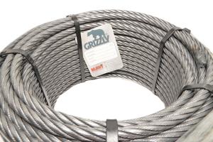 Cablu Tractiune Fi10 6x25 Compactat Grizzly - 100m
