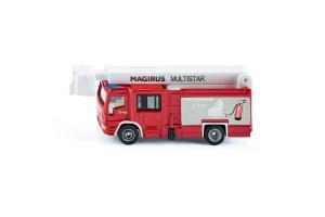 Camion Magirus Multistar Tlf Cu Macara Telescopica Siku # 1749