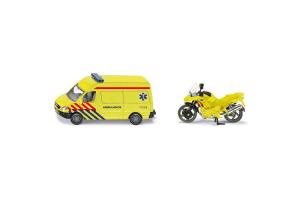 Ambulanta Cu Motocicleta Siku # 1654