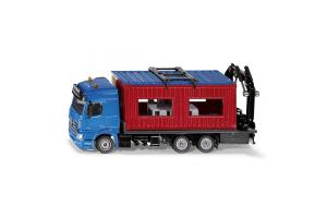 Camion Cu Remorca Pentru Materiale De Constructie Siku # 3556