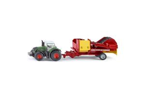 Tractor Cu Masina De Scos Cartofi Siku # 1808
