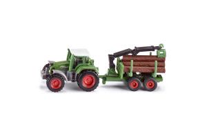 Tractor Cu Remorca Forestiera Siku # 1645