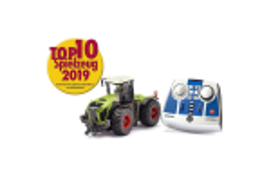 Tractor Claas Xerion 5000 Trac Vc Cu Telecomanda Si Aplicatie Pt Control Cu Bluetooth Siku # 6794