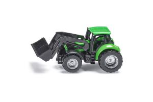 Tractor Deutz Fahr Cu Incarcator Frontal Siku # 1043