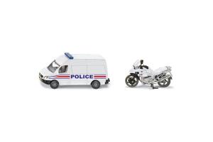Masina De Politie Cu Motocicleta Siku # 1655