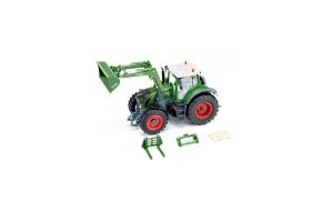 Tractor Fendt 933 Vario Cu Incarcator Frontal Si Aplicatie Pentru Control Cu Bluetooth Siku # 6793