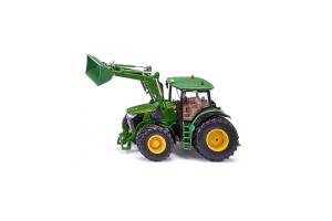 Tractor John Deere 7310r Cu Incarcator Frontal Si Aplicatie Pentru Control Cu Bluetooth Siku # 6792