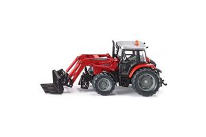 Tractor Massey Ferguson Cu Incarcator Frontal Siku # 3653