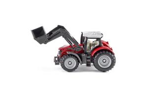 Tractor Massey Ferguson Cu Incarcator Frontal Siku # 1484