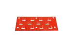 Tabla Retinator 12-Solzi/ 6-Suruburi/ 142X340 mm 700-0339370000/0339.37.00.00 # B126887